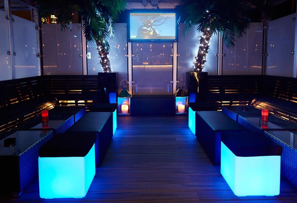 VIP Area - Rooftop Terrace